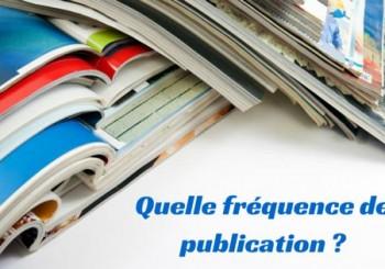 Blog : quelle fréquence de publication ?